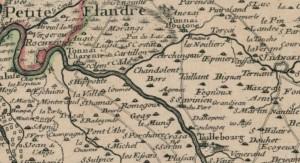 Carte-du-Bourdelois-du-Perigord-et-des-provinces-voisines-par-DelIsle-1714-Bors