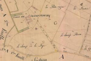logis-de-champfleury-bords-cadastre-1826